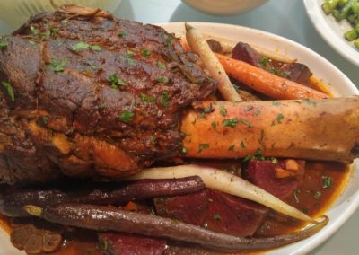 Whole beef shank