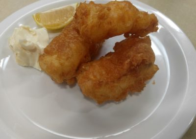 Fish & Chips...minus the chips!
